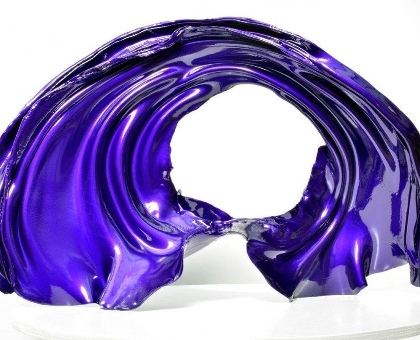 Purple sculpture