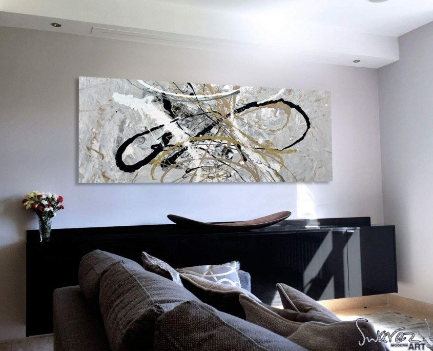 Black-and-white-modern-art
