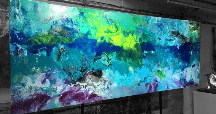 modern art called Deep Blue Something