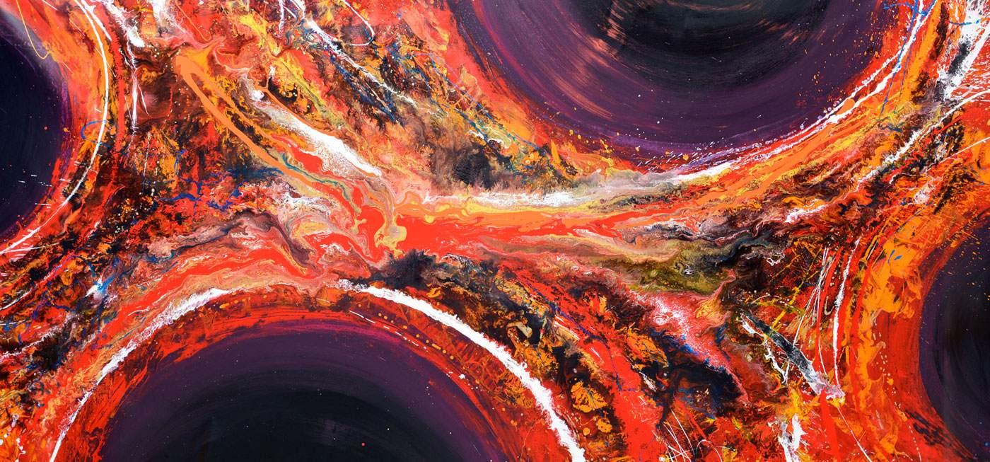 Very large art called Requiem