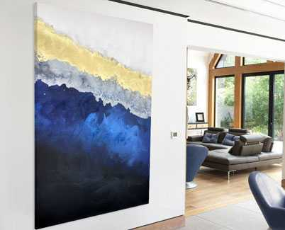 blue-gold-art-work-in-a-modern-living-space