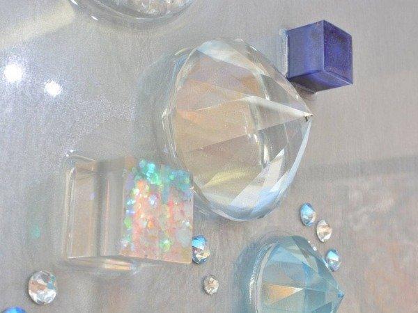 cut crystal shape