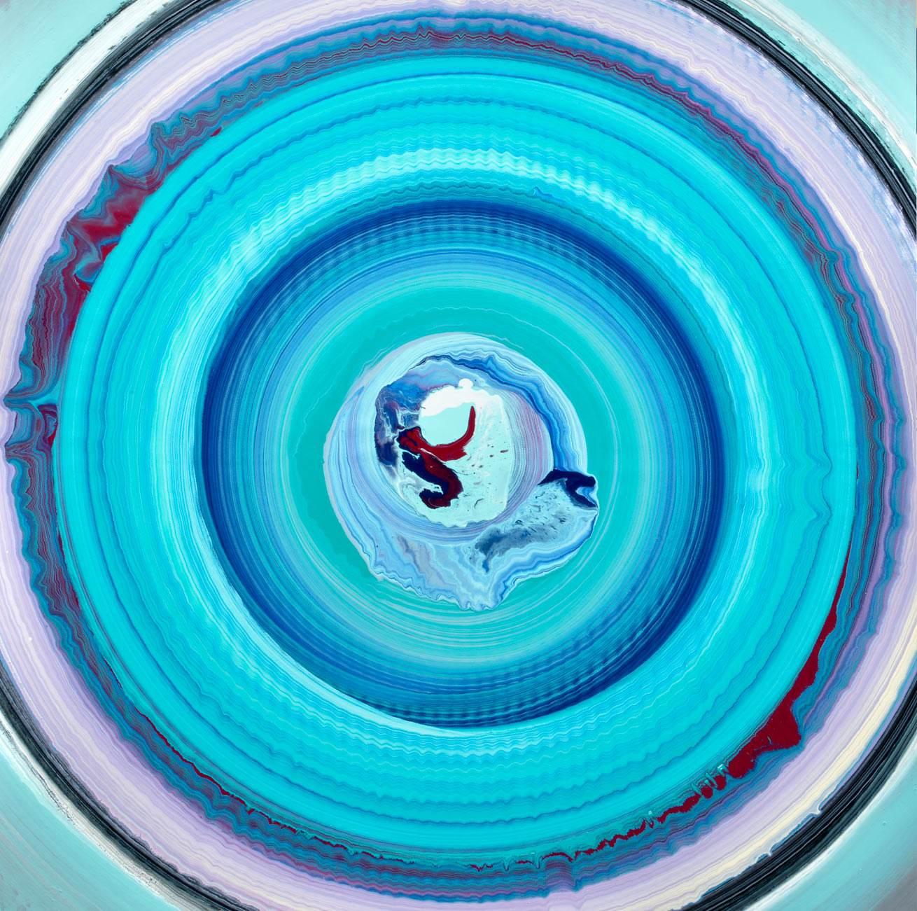 Kepler 186 blue spin painitng