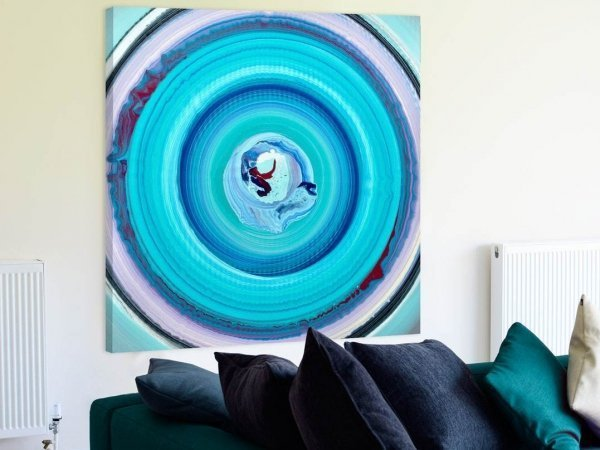 painting of circles