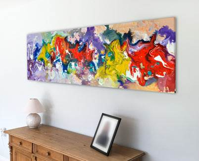 multi color colourful abstract art
